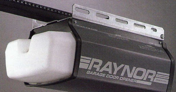 Garage door zone blog the raynor r150 opener we bid for Door zone garage doors