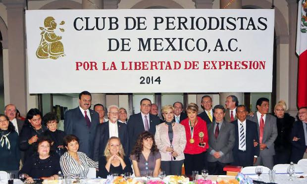 MVS violó la Constitución al despedir a Aristegui, señala club de Periodistas