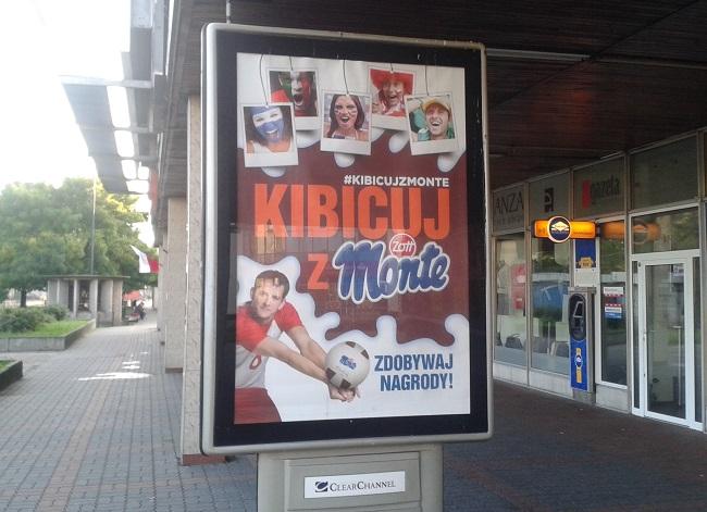 Reklama z Bartoszem Kurkiem - fot. Tomasz Janus / sportnaukowo.pl