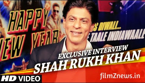 Exclusive: Shah Rukh Khan Interview for Next Movie Happy New Year