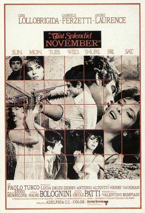 That Splendid November AKA Un bellissimo novembre 1969