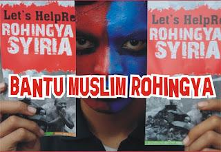 Aksi Cepat Tanggap Bantuan Kepada Muslim Rohingya
