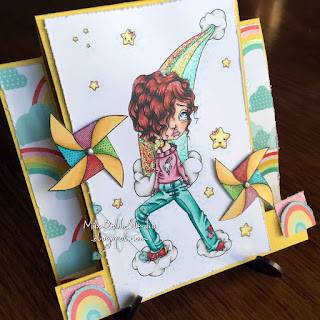Oddball Stamps Cute Big Eye Kawaii Rainbow Maker Image 183