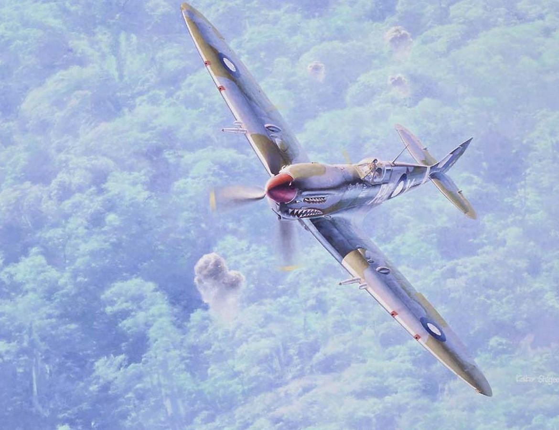 Lujoso Avión De Combate Para Colorear Elaboración - Enmarcado Para ...