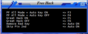 Hack Perfect + Auto Key v.6094