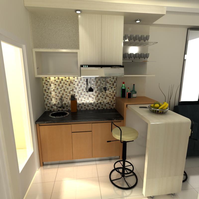 Kitchen Set Ukuran 1 Meter: Djaya Dwipa Furniture: Paket Murah Interior Apartemen