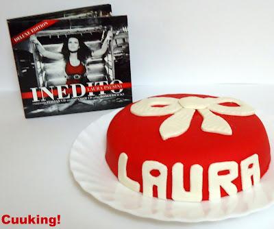 Tarta Laura Pausini (Almendras y café)