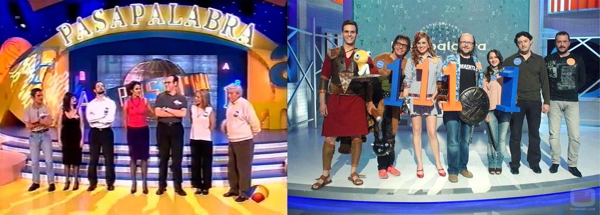 Etapa de Antena 3 y de Telecinco de Pasapalabra