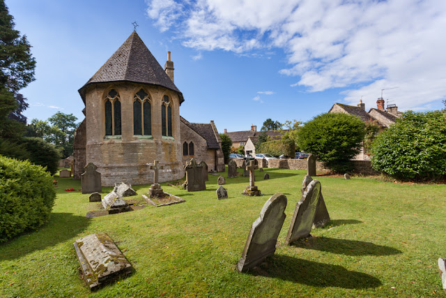 Victorian church in the Oxfordshire Cotswold village of Filkins by Martyn Ferry Photography