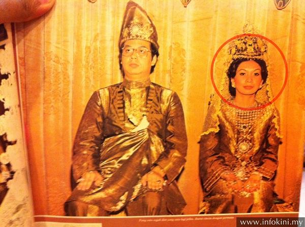 Puteri Zainah Iskandar- Isteri pertama Najib