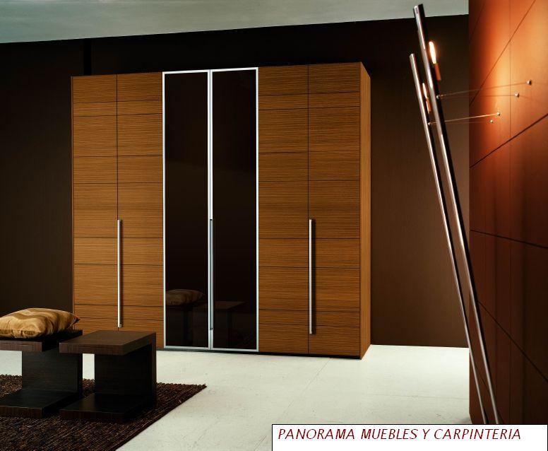 Panorama muebles y carpinteria closet modernos for Closets modernos para parejas