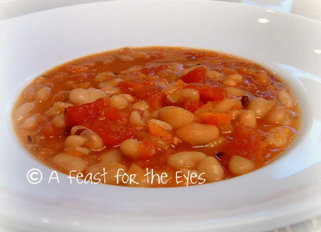 Feast for the Eyes: Bean and Bacon Soup, revisited