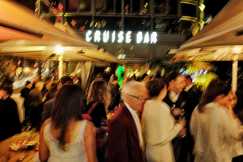 Cruise Bar at Circular Quay re-launch party. Unique Sydney Event Photography