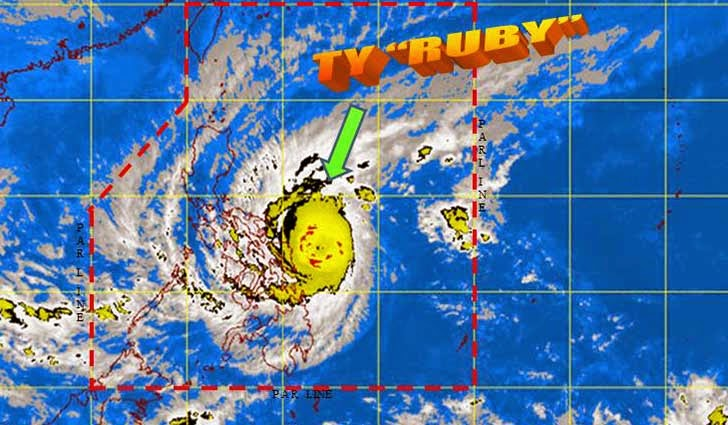 Typhoon Ruby (Hagupit): December 6, 2014 Update