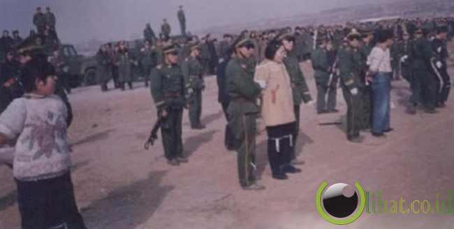 Liu Jinfeng sebelum menghadapi hukuman nya