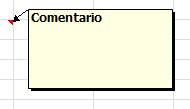Comentarios en Excel 2007