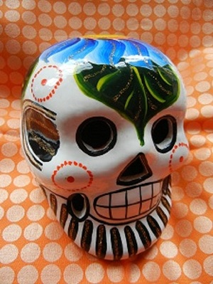 SPARKLY SKULL FROM DUFF!