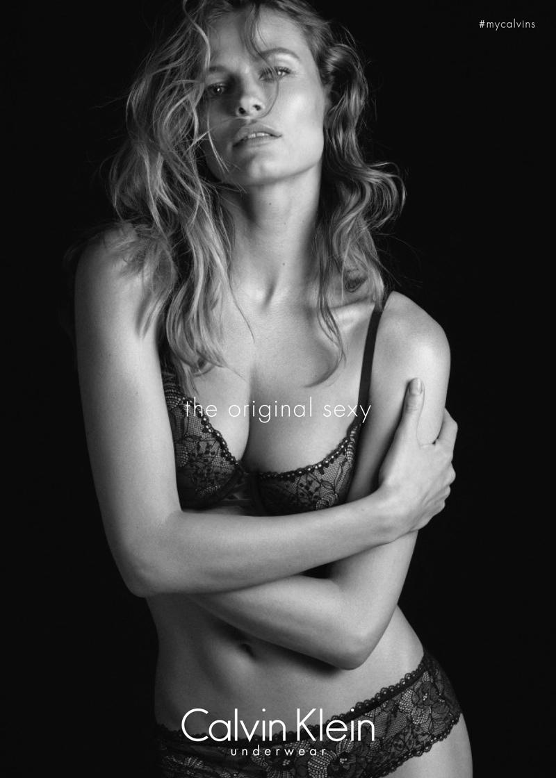 Edita Vilkeviciute for Calvin Klein Underwear