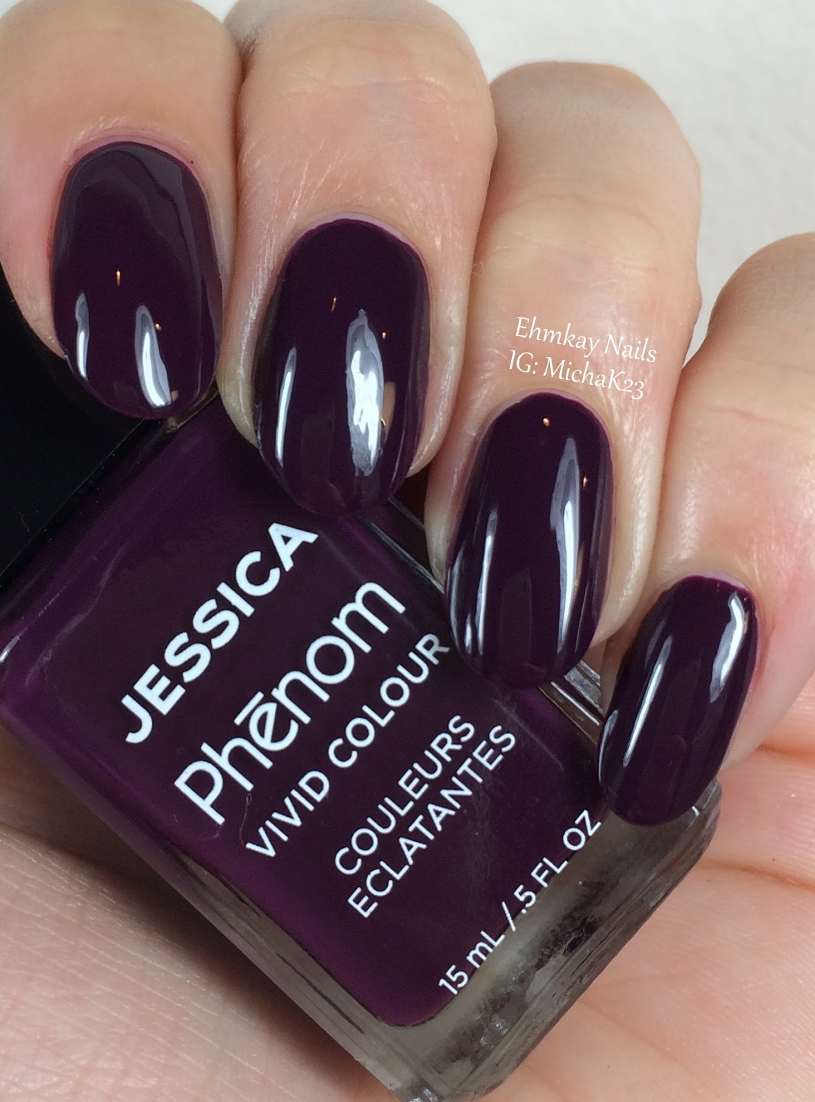 ehmkay nails: Jessica Cosmetics Phenom Colors: Winter 2015 Swatches ...