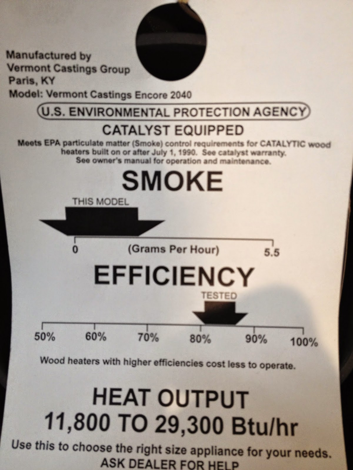 Heated Up!: A Review of Wood and Pellet Stove Efficiency Ratings ...