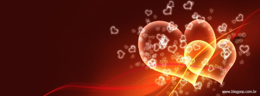 Capa para facebook de Coração