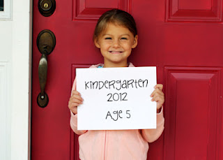Tessa's first day of kindergarten!