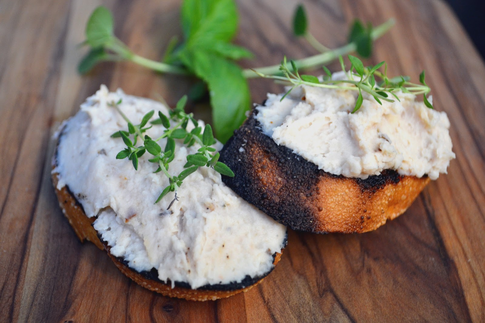 White Bean and Rosemary Crostini ~ New York Food Journal