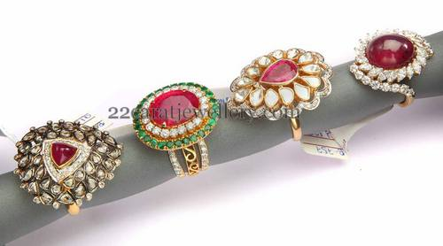 Cocktail and Wedding Rings Sets Jewellery Designs