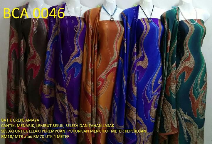 BCA 0046: BATIK CREPE AMAYA, OPEN METER, RM18/MTR
