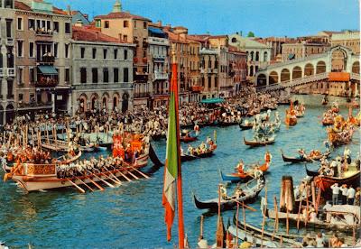 Regatta in Venice, Italy