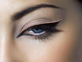 maquillage yeux annees 60