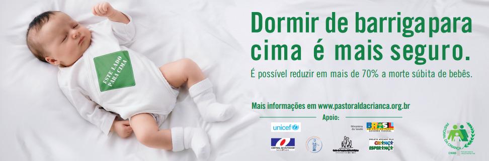 Síndrome da Morte Súbita em Lactente dormir de barriga para cima é mais seguro