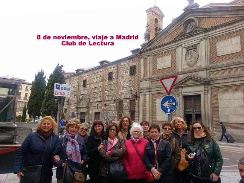 VIAJE A MADRID, CLUB DE LECTURA, 08/11/2014