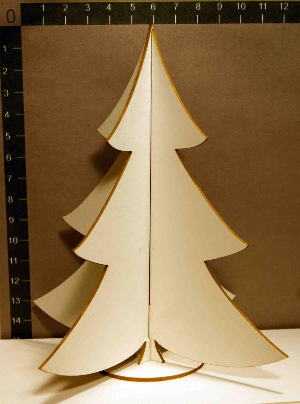 Как сделать большую елку из картона своими руками 137