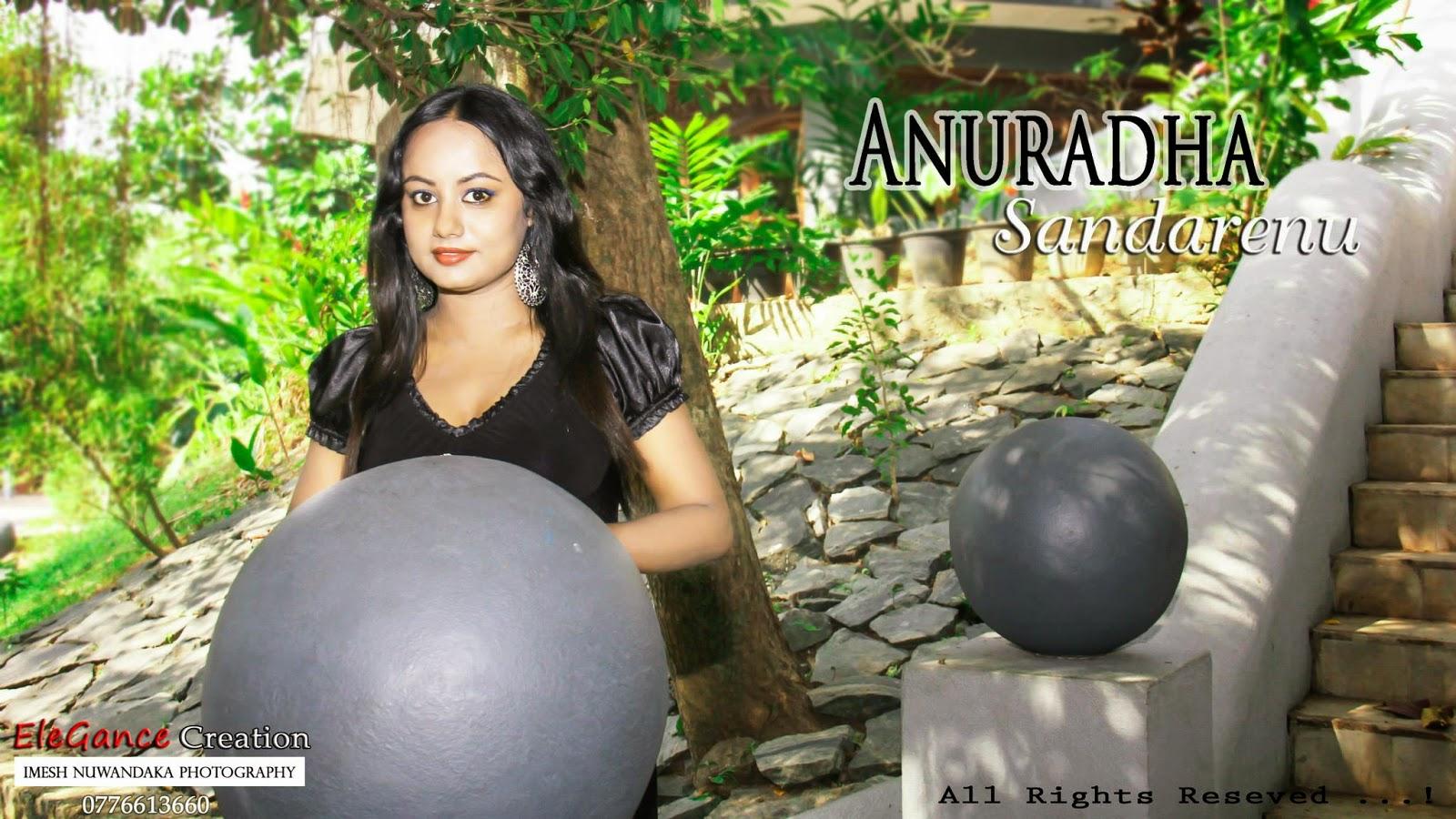 ANURADHA SANDARENU sri lankan model