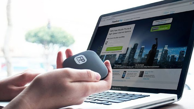 gadgets, oficina, internet, wi-fi, 4G, FreedomPop Spot Platinium Photom