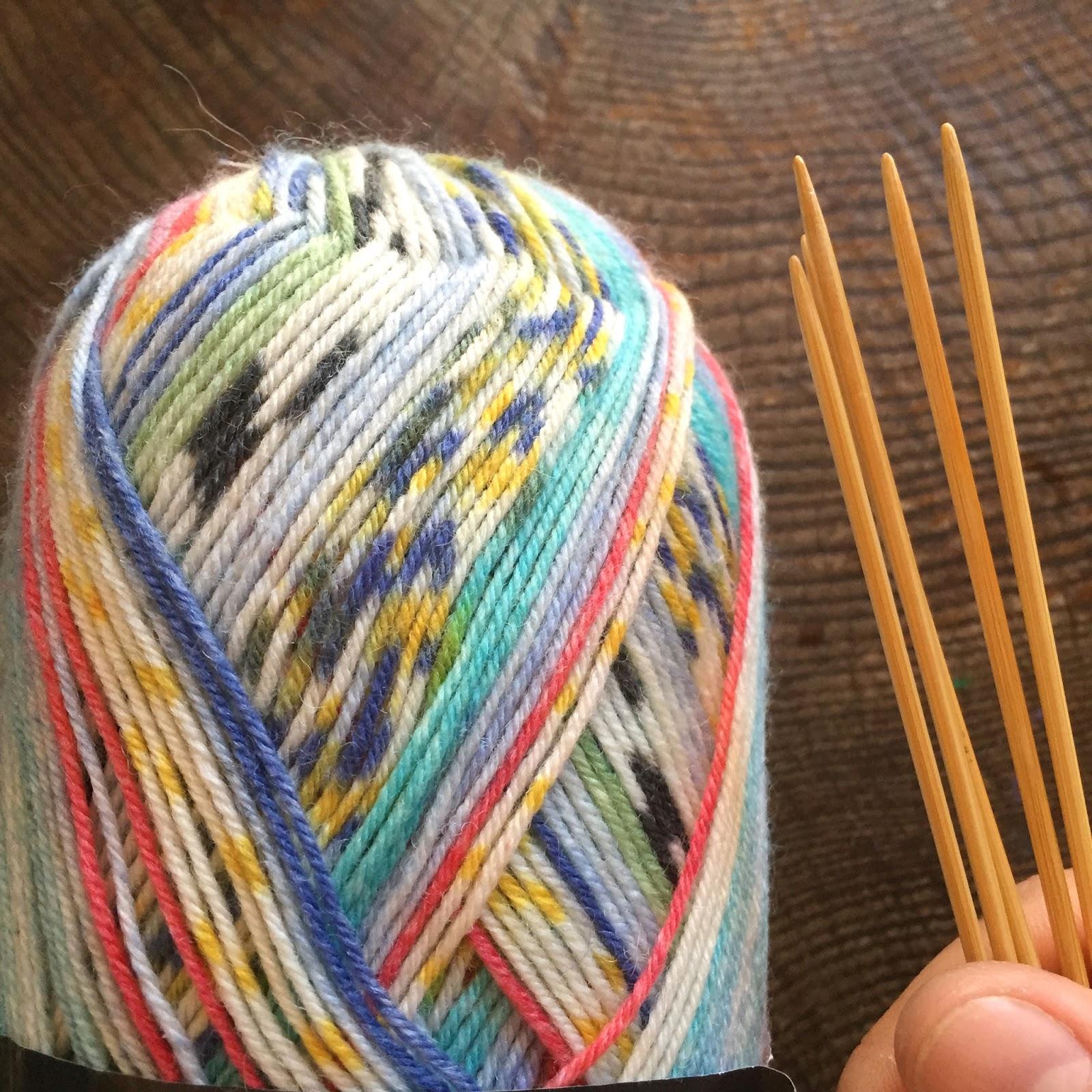 Paseando hilos: Tejer calcetines en otoño