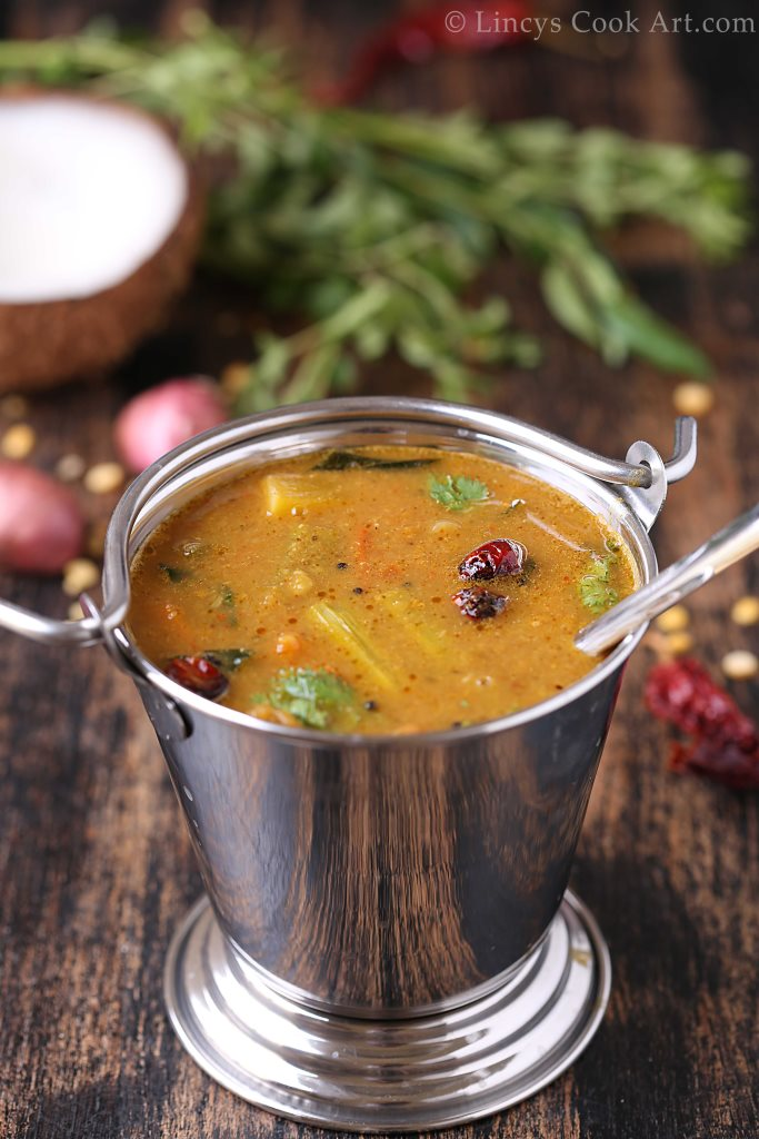 Malabar varutharacha sambar recipe