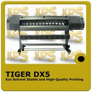 Tiger dx 5 Eco solvent
