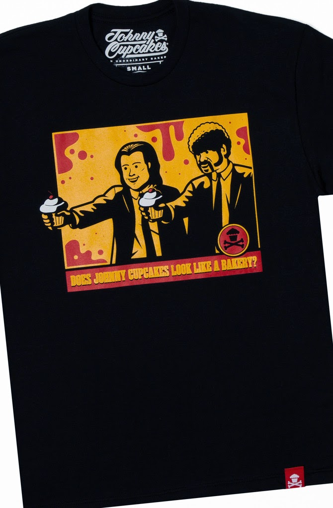 Johnny Cupcakes Movie T-Shirt Collection - Hitmen