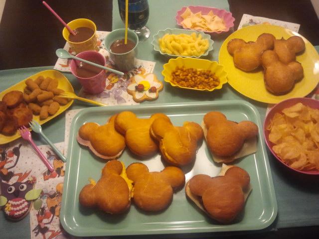 Las comidicas de mamen bocatas para fiesta infantil - Preparar fiesta infantil ...