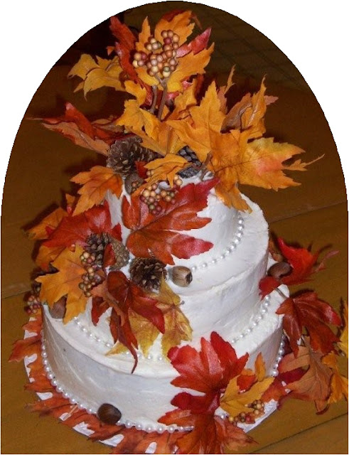 Autumn Decorated Cakes2