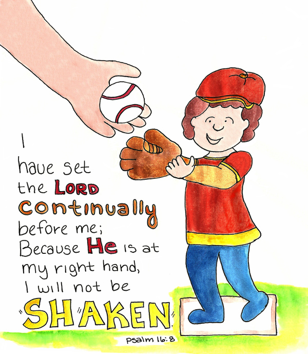 psalm 168 - Psalm 8 Coloring Page
