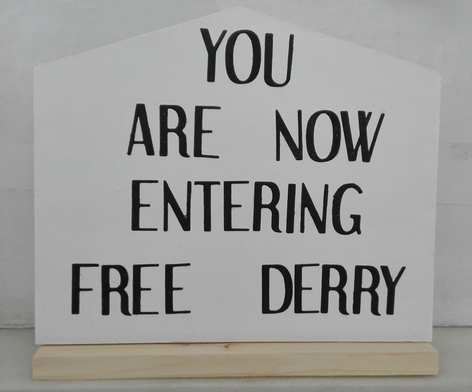 Réplica del Free Derry Corner - 22€