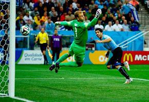 Inglaterra 1x2 Uruguai - 2014