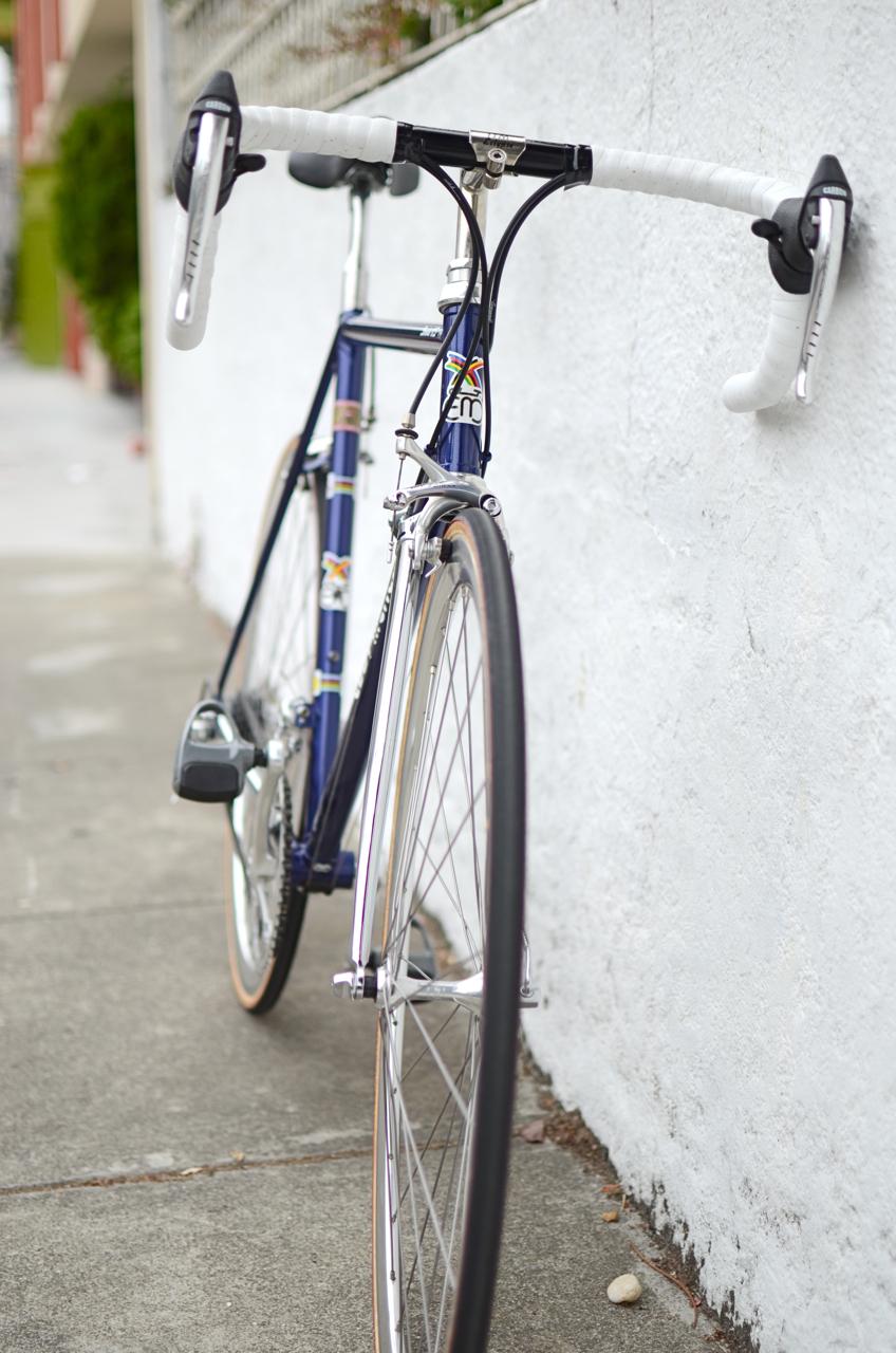 Eddy Merckx Strada Columbus steel road bike Campagnolo Athena Chorus Record Super Record