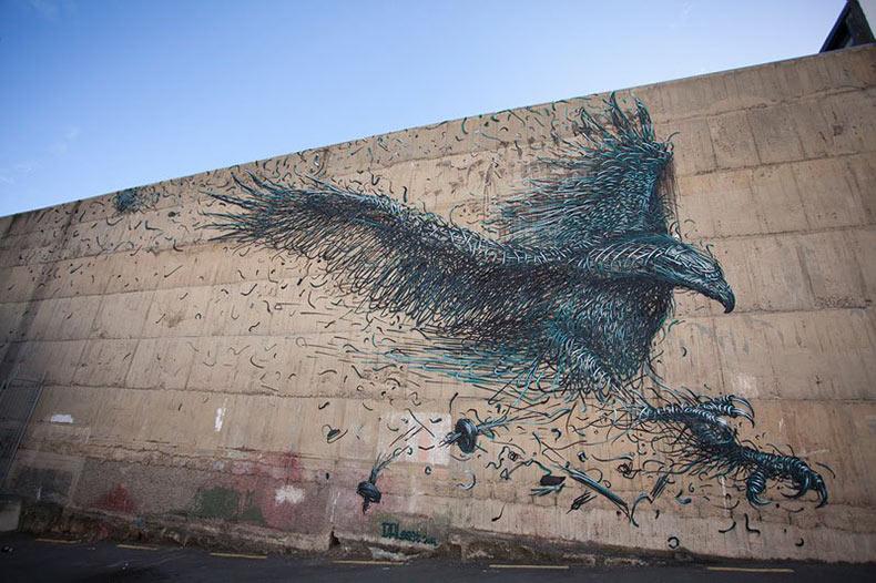 El increíble arte urbano de DALeast