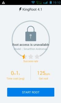 Tampilan KingRoot Root
