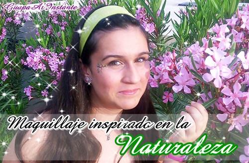 maquillaje de fantasia inspirado en la naturaleza
