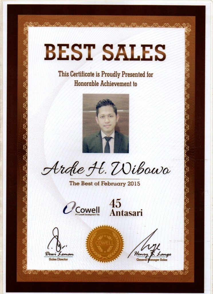 THE BEST SALES FEBRUARI 2015